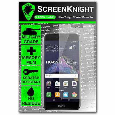 ScreenKnight Huawei P8 Lite (2017) FRONT SCREEN PROTECTOR - Military Shield • 5.99£