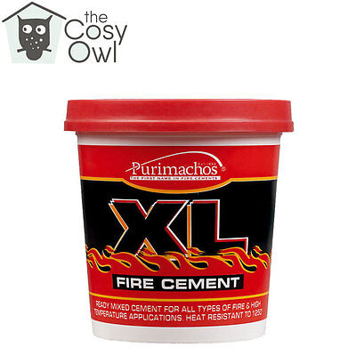 Everbuild XL Buff Fire Furnace Pipe Cement High Temperature For Stoves 500G • 6.84£