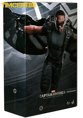 $ CDN590.83 • Buy Hot Toys MMS245 Captain America Winter Soldier: Falcon Anthony Mackie 1/6 Figure