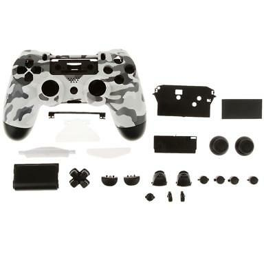 AU15.80 • Buy Grey Black Controller Shell Case Replacement Parts For PS4 Dualshock 4
