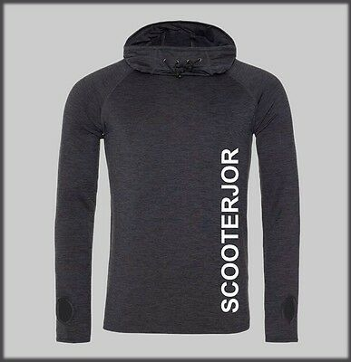 Sled Dog Spirit Scooterjor Scooter Cowl Neck Cool Tech Mens Male Hoody Husky  • 28.99£