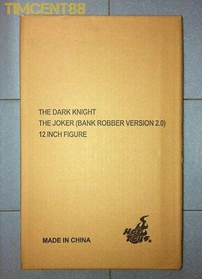 $ CDN765.56 • Buy Ready! Hot Toys MMS249 Batman Dark Knight TDK Joker Bank Robber 2.0 Exclusive