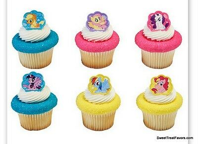 My Little Pony CupCake Cake Topper 12 18 24 Favors Decoration Birthday Horse Kid O 695