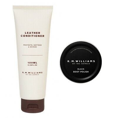 AU33.98 • Buy RM Williams Leather Conditioner + Stockman's Boot Polish Deal