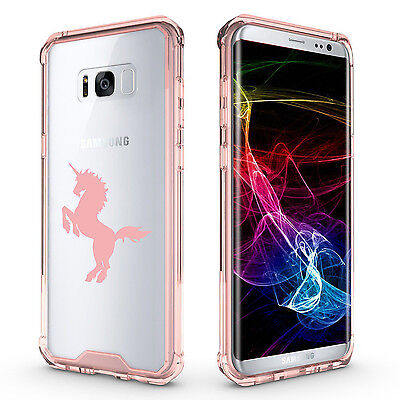 $ CDN20.10 • Buy For Samsung Galaxy S7 Edge S8 S9 + Clear Shockproof Bumper Case Cover Unicorn