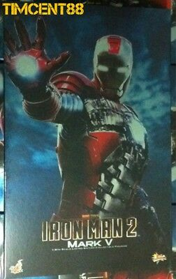$ CDN568.32 • Buy Ready! Hot Toys MMS145 Iron Man 2 - Ironman Mark 5 V 1/6  Figure New