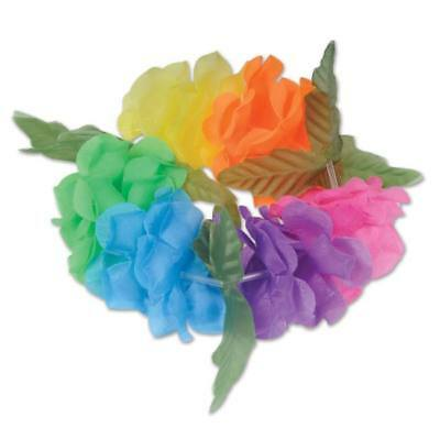 Luau Party Silk And Petals Big Island Headband Floral Headband Luau Party Favors • 1.21£