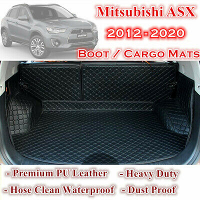 AU109.25 • Buy Tailor Made PU Leather Boot Liner Cargo Mats Cover Fits Mitsubishi ASX 2012 - 21