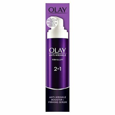 Olay Anti Wrinkle Firm And Lift 2-in-1 Day Cream And Firming Serum 50ml • 7.29£