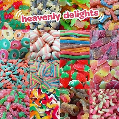 £3.89 • Buy Heavenly Delights Halal / Vegan Sweets (Pic N Mix) Retro Candy | HMC Certified