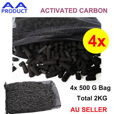 AU21.99 • Buy 2KG Activated Carbon Air And Water Filter Purification For Car Fridge Fish Tank