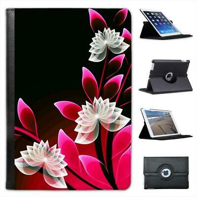 £9.99 • Buy Pink & White Floral Type Delicate Pattern Leather Case For IPad Mini & Retina
