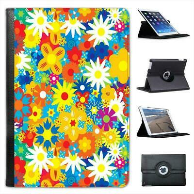 £11.99 • Buy Seamless Spring & Summer Floral Pattern Leather Case For IPad Mini & Retina