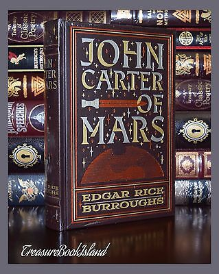 $48.64 • Buy John Carter Of Mars By Edgar Rice Burroughs New Sealed Leather Bound Collectible
