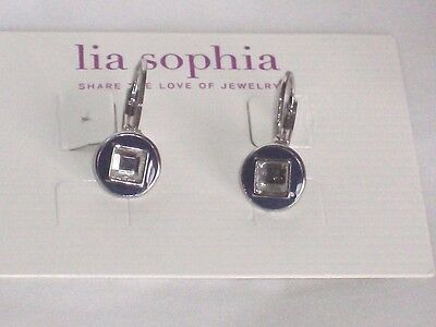 $ CDN12.61 • Buy Adorable Lia Sophia SHUTTER Earrings, NWT