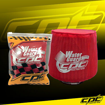 $19.99 • Buy Water Guard Cold Air Intake Pre-Filter Cone Filter Cover For Chevy Small Red