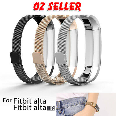 AU9.99 • Buy Stainless Steel Replacement Spare Band Strap For Fitbit Alta / Alta HR