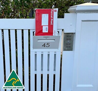 $361.88 • Buy World's Best Fence Letterbox Parcel Letterbox Drop Box Mail Box Secure Delivery