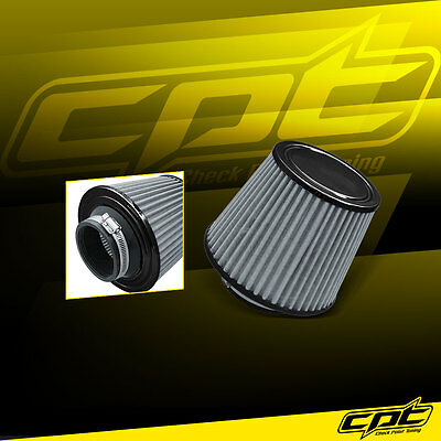 $17.99 • Buy 2.75  Stainless Steel Cold Air Short Ram Intake Filter Black For Cavalier Malibu