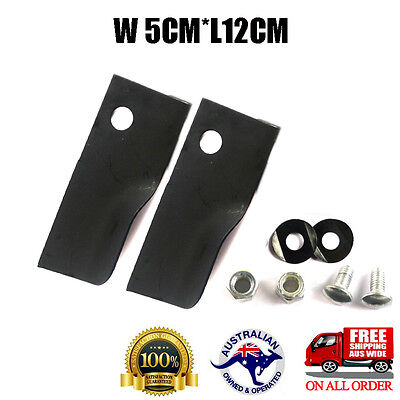 LAWN MOWER BLADES BOLTS KIT FOR LATE MODEL ROVER MOWERS 5x12cm • 8.41£