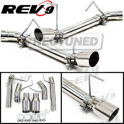 $245 • Buy For Mustang 05-10 V8 GT/GT500 2.5  Dual Axle Back FlowMaxx Exhaust Straight Pipe