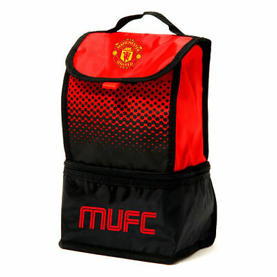 Manchester United Football Adult Kids School Office Insulated Lunch Bag Fade • 12.40£