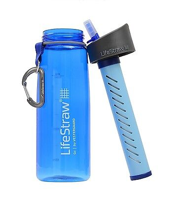AU107.99 • Buy LIFESTRAW GO PERSONAL PORTABLE WATER FILTER BOTTLE PURIFIER Vestergaard