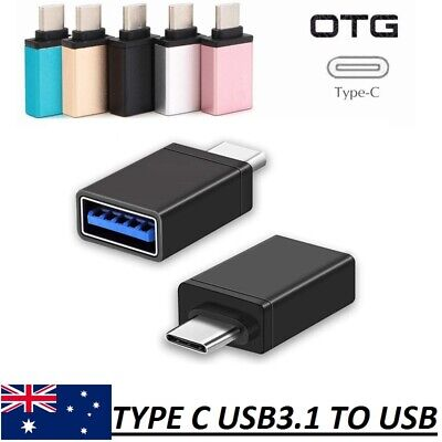 AU3.95 • Buy USB 3.1 Type C Male To USB 3.0 A Female Converter USB-C Cable Adapter OTG HQ