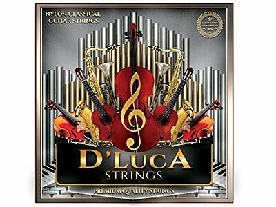 $ CDN10.18 • Buy D'Luca Nylon Classical Guitar Strings 6 Pcs Set
