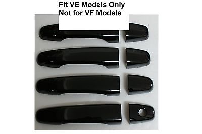 AU70 • Buy HSV Holden Commodore VE Series I II SS SV6 SSV GTS NEW Black Door Handle Covers