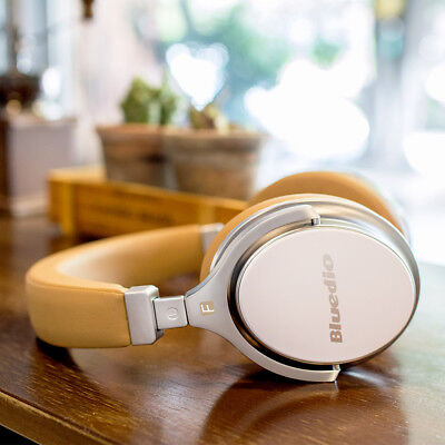 AU44.99 • Buy Bluedio F 2nd Wireless Bluetooth 4.2 Noise Cancelling Headphones Stereo Headsets