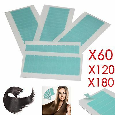 60/180 Double Sided Adhesive Super Tape For Tape In Hair Extensions Skin Weft UK • 8.74£