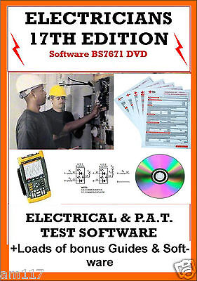 £2.69 • Buy Electrical & Pat Testing Certificates Software 17th Edition EICR 3rd Amendment