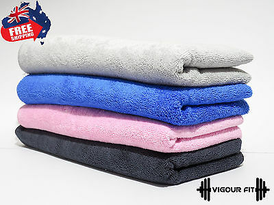 AU20.99 • Buy Microfiber Towel Gym Sport Footy Travel Camping Swimming Beach Bath Microfibre