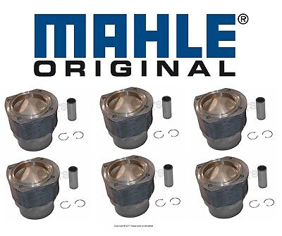 $3399.92 • Buy For Porsche 911 S 2.2L H6 70-71 Set Of 6 Engine Pistons & Cylinders W/ Rings OEM
