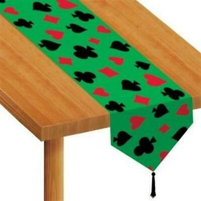 $3.99 • Buy Printed Casino Paper Table Runner Casino Vegas Gambling Party Decor Accessory
