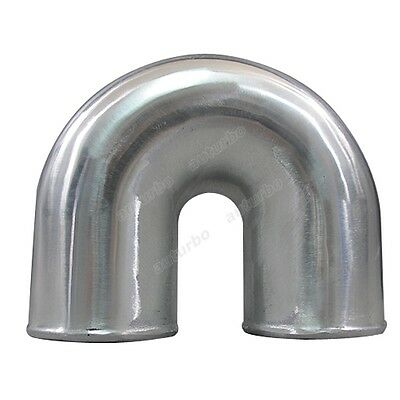 AU59.45 • Buy 4  Cast Aluminium Elbow U 180 Degree Pipe Tight Bend Polished