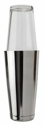 Boston Cocktail Shaker 28oz Stainless Steel Can & Glass Cocktail Mixing Tin • 8.95£
