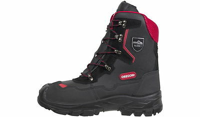 Oregon Yukon Chainsaw Leather Safety Boots Class 1 (20 M/s) - All Sizes • 82.95£