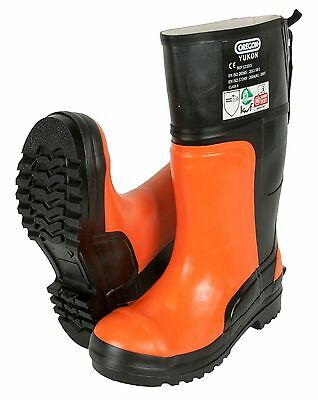 Oregon Yukon Chainsaw Rubber Safety Boots Class 3 (28 M/s) - All Sizes • 49.95£