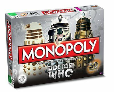 £29.95 • Buy Doctor Who 50th Anniversary Edition Monopoly Dr Who Trading Game
