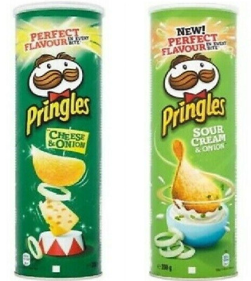 Pringles Potato Snack To Share With Family & Friends For Any Occasion  • 7.99£