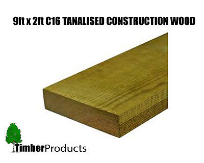 £5.19 • Buy 9x2 CLS Tanalised Timber C16 Structural Graded Studwork Timber Pressure Treated