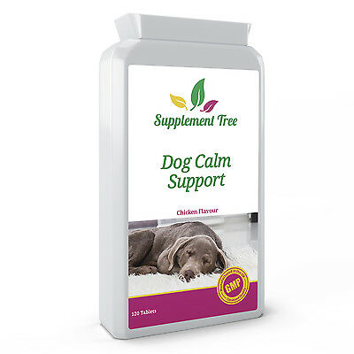 £12.99 • Buy DOG CALMING 120 Tablets Natural Stress, Anxiety & Hyperactivity Relief For Pets