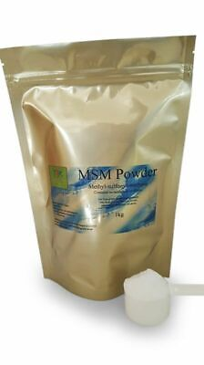 AU55 • Buy Pure MSM Powder 1kg HighestQuality Human Grade Vegan GF Seller Nutritionist