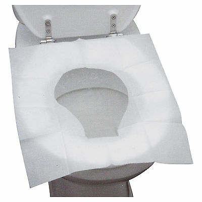 £2.99 • Buy 15 Disposable Toilet Seat Covers Hygienic Flushable Travel Camping Pocket Size