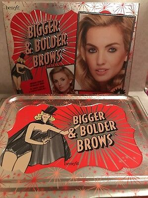 £21.71 • Buy Benefit Bigger & Bolder Brow Buildable Color Kit Dramatic Brows