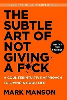 AU24.71 • Buy The Subtle Art Of Not Giving A Fck Counterintuitive Approach To Living Good Life
