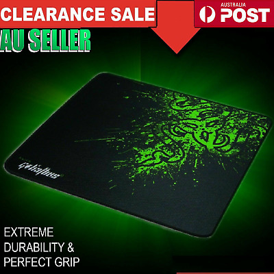 AU7.99 • Buy Anti Slip Mousepad Razer Laptop Desktop Computer PC Gaming Mouse Pad Mat Large