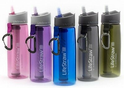 AU83.35 • Buy LifeStraw Go Personal Water Filter Bottle Purifier- 2 Stage Filtration